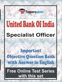 Buy United Bank of India Specialist Officer Exam MCQ Book In